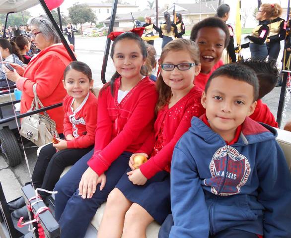 Children at SFSCS about