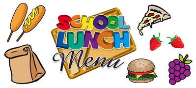 School Lunc Menu clipart